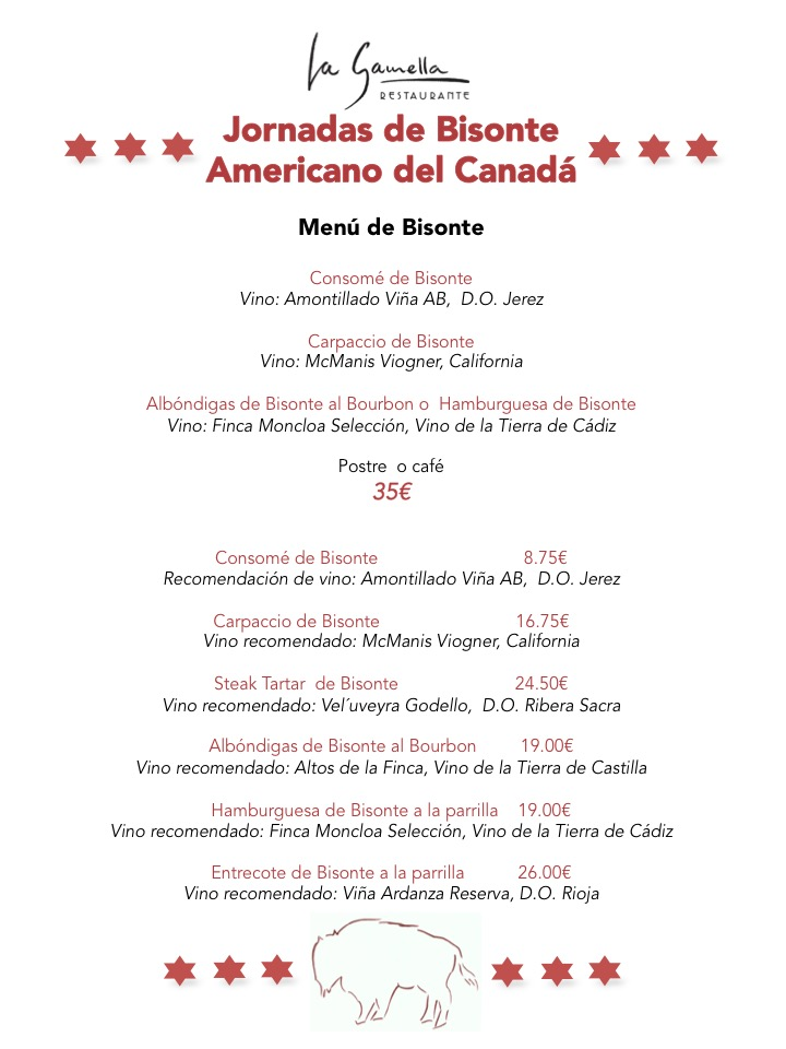 Jornadas de Bisonte Americano del Canadá